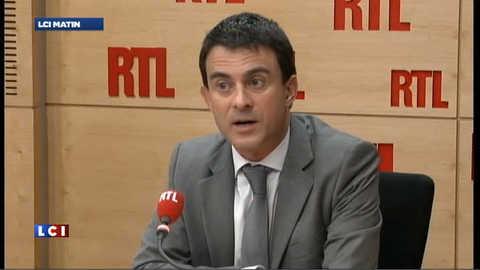 """Valls : """"le seul candidat du changement, c'est François Hollande"""""""
