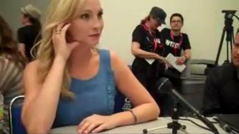 Vampire Diaries - Candice Accola et Paul Wesley parlent de la saison 3 au Comic Con