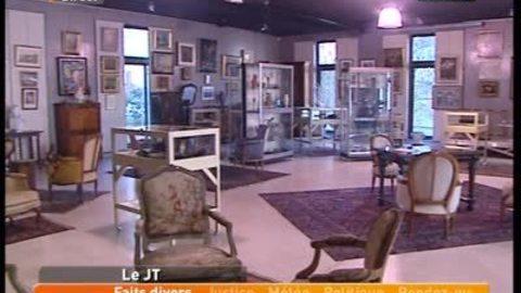 Vente aux enchères à l'hôtel de région de Charbonnières