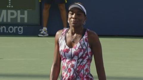 Venus Williams au rendez-vous