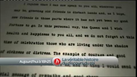 La véritable histoire du discours du roi