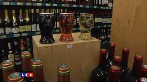 Le verre de vin fait son entrée dans les supermarchés