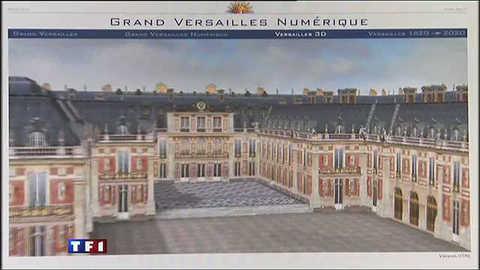 Versailles se visite désormais... virtuellement