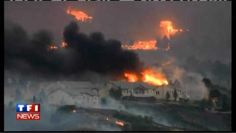 VIDEO – Incendies au Colorado : 32.000 personnes évacuées