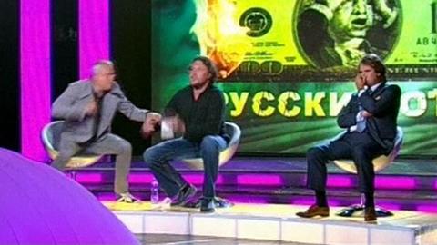 Vidéo : le milliardaire Lebedev frappe un homme d'affaire à la télévision