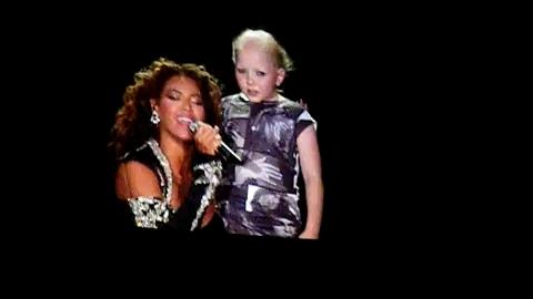 VIDEO   Quand Beyoncé chante pour une enfant malade... ça file la chair de poule !