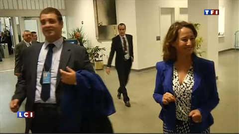 VIDEO : Royal et Hollande s'évitent de peu à New York