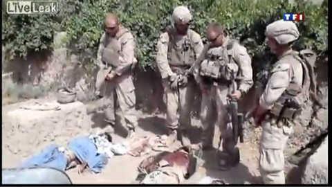 Une vidéo de soldats américains en Afghanistan fait scandale