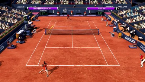 Video Test - Virtua Tennis 4