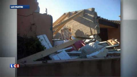 La villa corse d'un banquier détruite par un attentat : les images