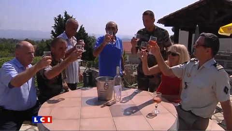 Le vin de la légion étrangère