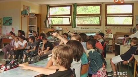 La viole de gambe présentée à des écoliers (Montpellier)