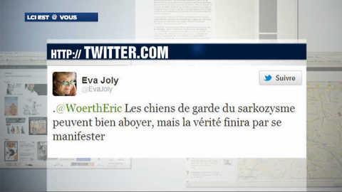 Violente prise de bec sur twitter entre Eric Woerth et Eva Joly