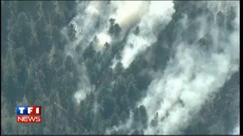 Violents incendie au Colorado et au Nouveau-Mexique