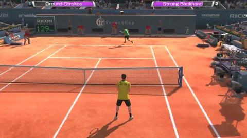 Virtua Tennis 4 - Gameplay - PS Vita.mp4