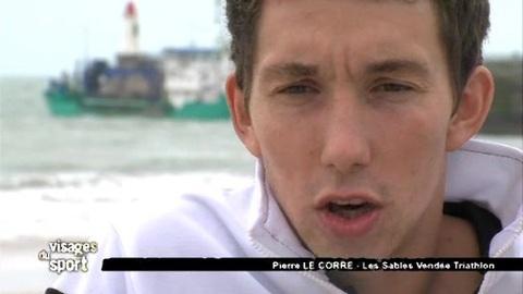 Visages du Sport : Pierre Le Corre, Triathlon