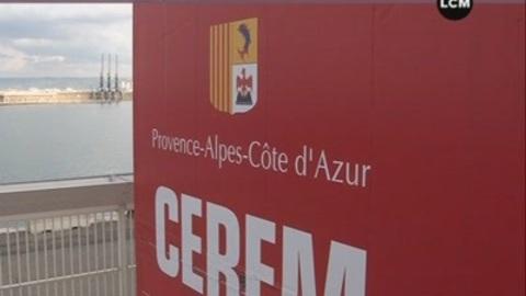 Visite du chantier du CEREM (Marseille)