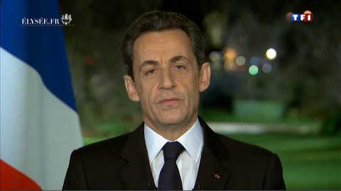 Les voeux de Nicolas Sarkozy : la vidéo intégrale