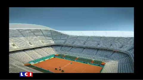 Voilà à quoi ressemblera le futur stade Roland Garros