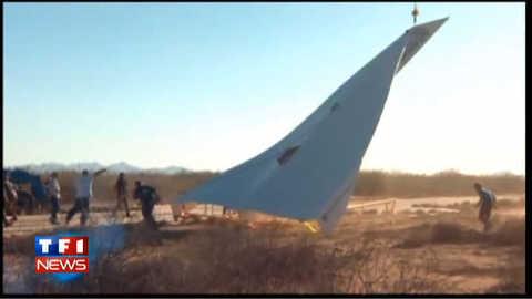 Vol du plus grand avion… de papier