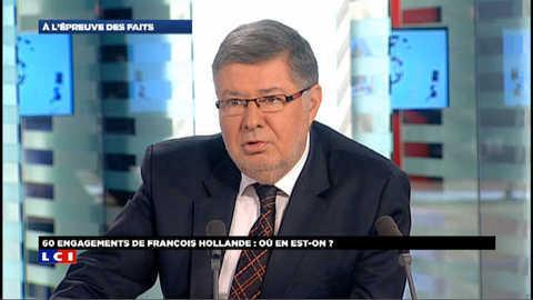 """Vote des étrangers : """"Il nous manque une trentaine de voix"""" (Alain Vidalies)"""