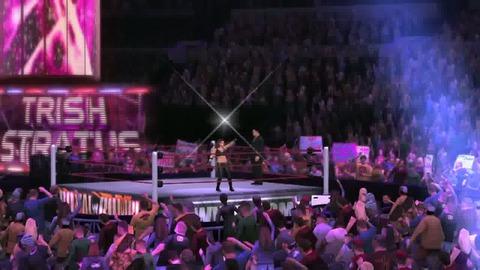 WWE 12 DLC - L'entrée Trish Stratus