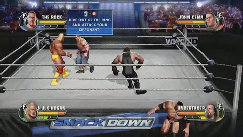 WWE All Star - Showroom 1/4 - PS3 Xbox360
