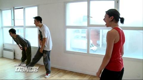 You Can Dance : Les garçons répètent la choré LMFAO