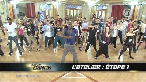 You Can Dance : Kamel et Benjamin assistent aux répétitions