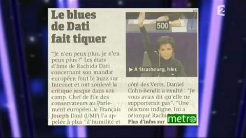 """E. Zemmour : """"Rachida Dati est un exemple d'intégration, elle a réinventé le parisienne écervelée..."""""""