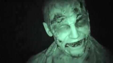 Un zombie dans une salle de cinéma